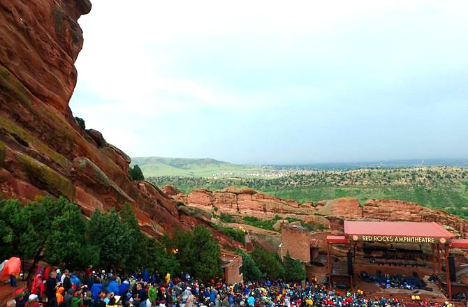 Our Flash Flood at Red Rocks Story