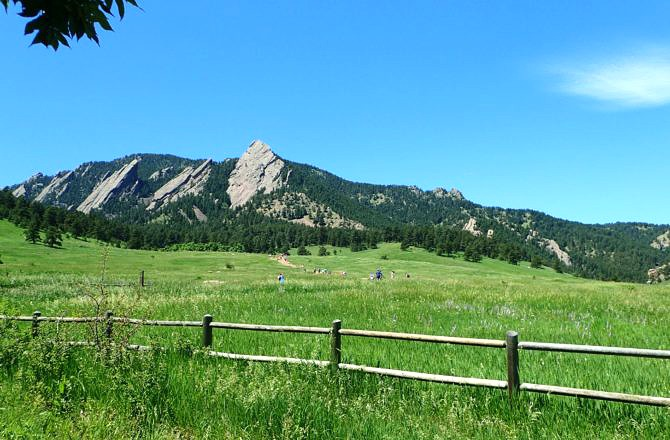 Hiking at Chautauqua Park