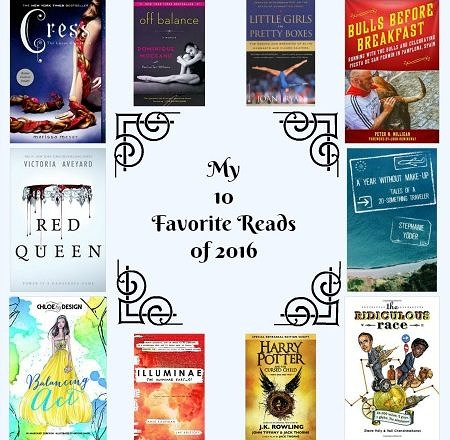 My 10 Favorite Reads of 2016