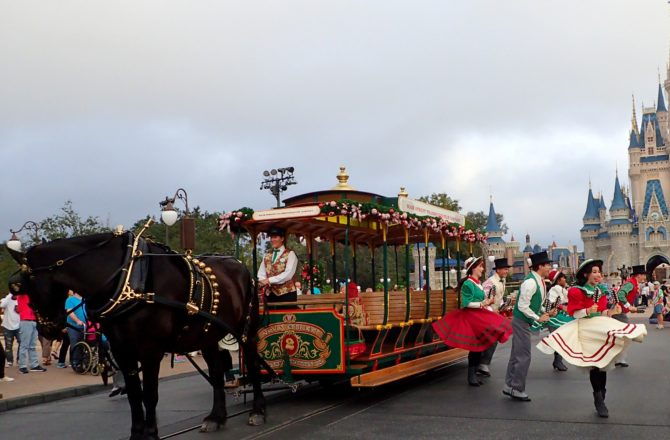 Christmastime in the Magic Kingdom