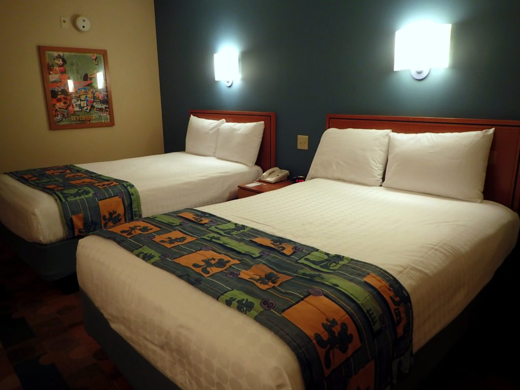Staying at disneys pop century resort obligatory traveler speaking of beds having a queen sized bed at home we always consider it a treat when we stay at a hotel or other accommodation that has a king sized bed publicscrutiny Images