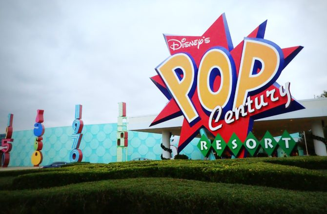 Staying At Disney's Pop Century Resort