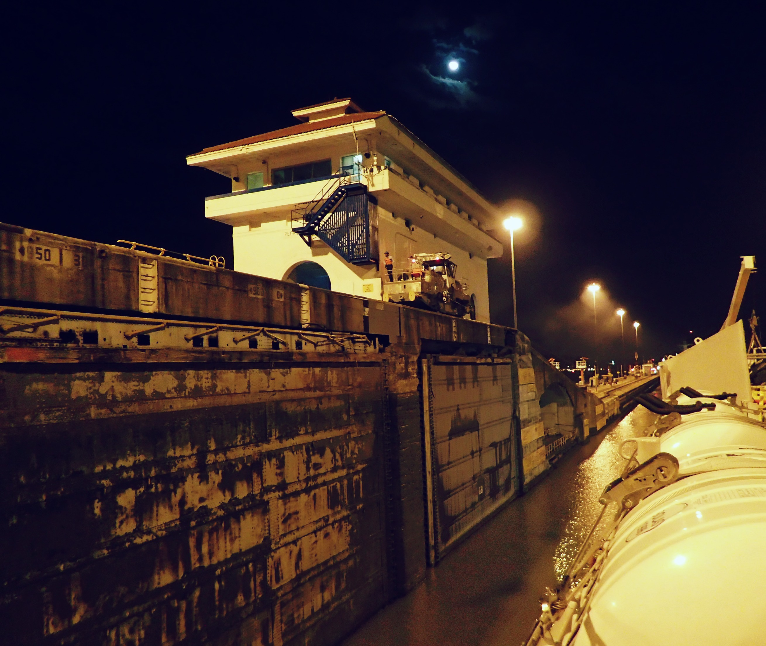 Cruising through the Panama Canal-with Uncruise