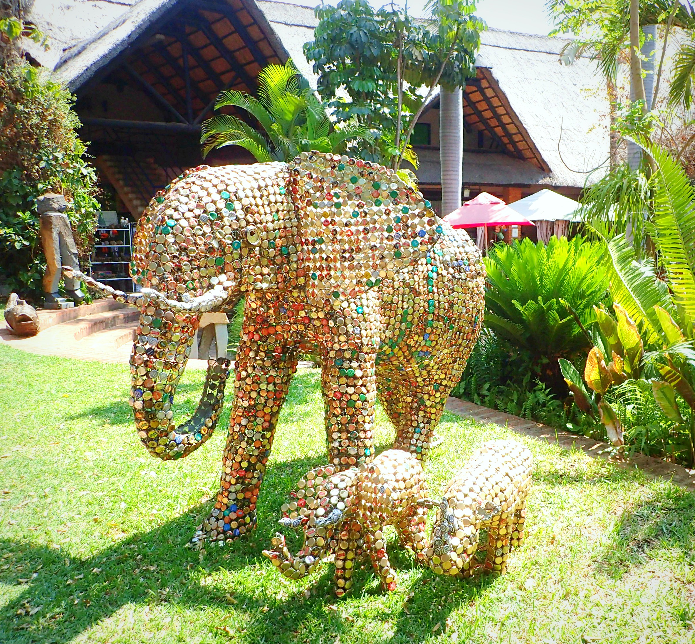 The Africa Cafe and Elephant's Walk-Victoria Falls for Introverts
