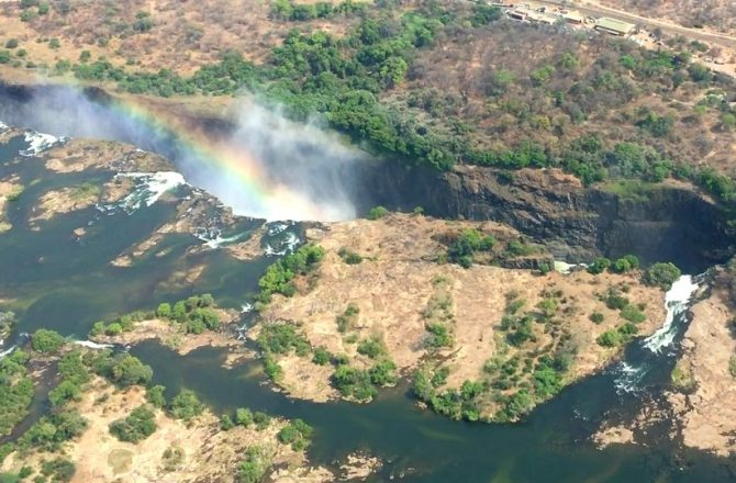 Rainbows and Moonbows-Helicopter Tour and Lunar Tour-Victoria Falls