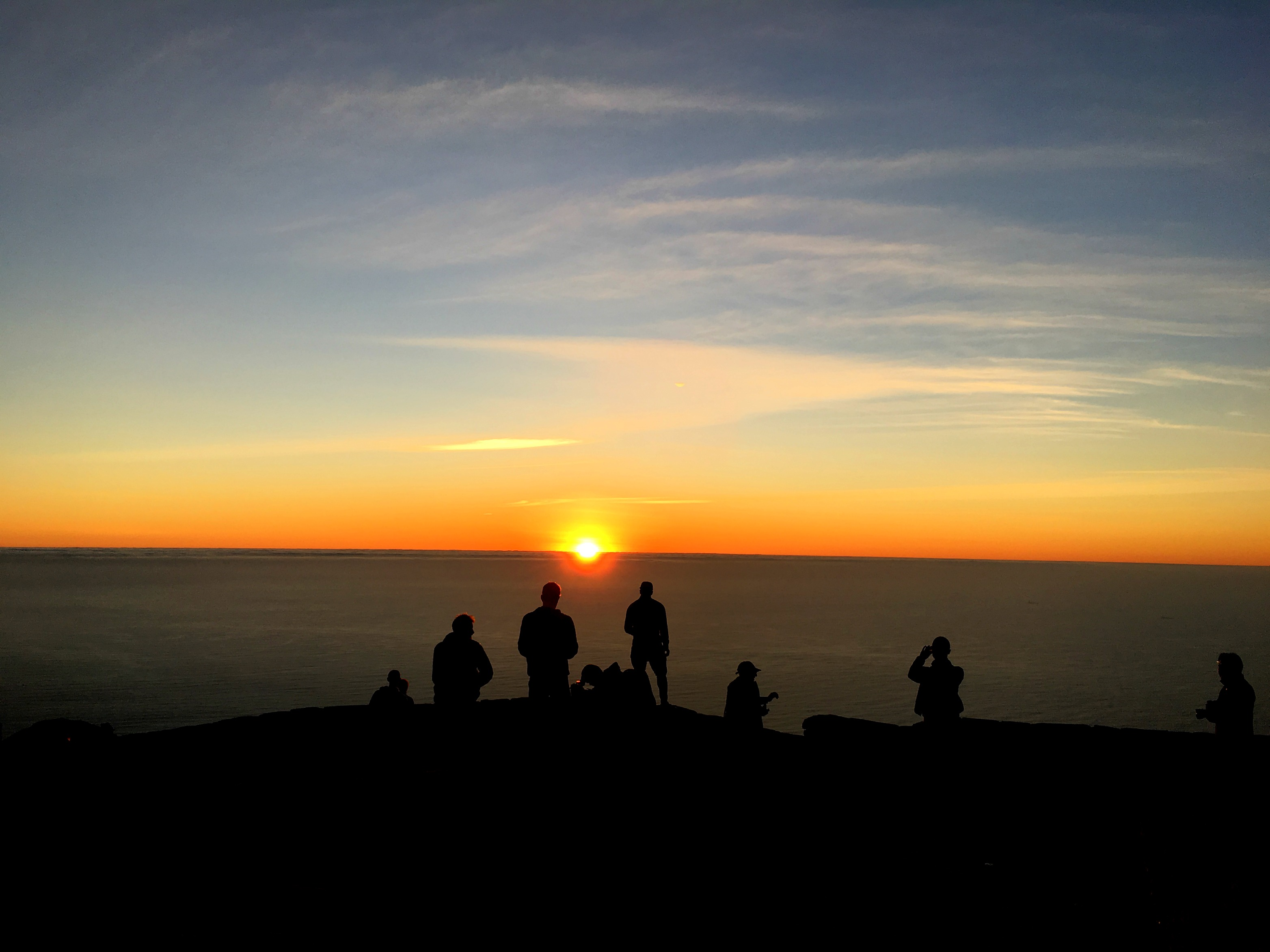 Sunset on Table Mountain-Cape Town